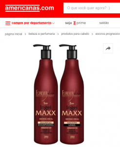 anvisa suspende In Gel Maxx Forever Liss